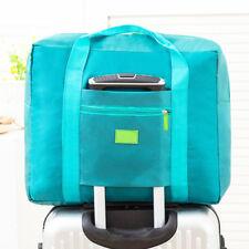 Large Storage Foldable Travel Bag Luggage Carry-on Organizer Shoulder Duffle Bag