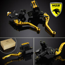 "7/8"" Brake Clutch Master Cylinder Lever Fluid Reservoir Kit for Yamaha Honda KTM"