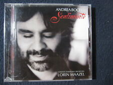 Sentimento: Andrea Bocelli with Lorin Maazel and the London Symphony Orchestra..