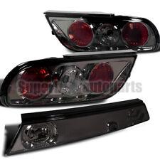 For 1989-1994 S13 240SX Hatchback Smoke Tail Lights+Center Piece