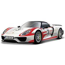 Bburago - Racing Porsche 918 Weissach 1 24 (bianco / Nero) Modellini Nuo-392962