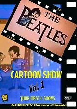 The Beatles Cartoon Show Vol. 1 DVD-R All NTSC Color