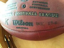 "Wilson NFL ""The Duke"" Official K Football Week 17-4 - Autographed"