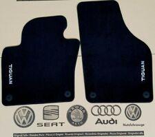 VW Tiguan 1 Typ 5N original Fußmatten vorne Veloursmatten R-Line Stoffmatten
