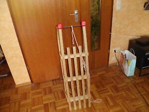 Kinder Holzschlitten 1,10m