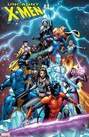 Uncanny X-Men #1 Carlos Pacheco 1:25 Variant Cover
