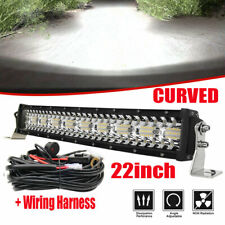 22inch 1820W off road led light bars spot light bar combo 12V 24V /w wiring