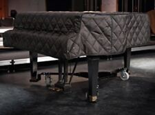 """Yamaha Quilted Grand Piano Cover - For 7'0"""" Yamaha Model C6 Black"""