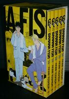 japan 107) Akimi Yoshida manga LOT: Banana Fish vol.11~15 Set (Reprint BOX vol.3