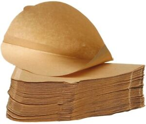 200 x Unbleached 100% Natural Coffee Filter Paper Size 4 (Four) 1X4