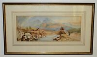 """""""Ben Nevis"""" Watercolour by Henry Simpson 1853-1921 Listed Artist Sold upto £1000"""