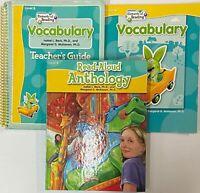 2nd Grade 2 Steck Vaughn Vocabulary Student Teacher Edition Bundle Homeschool