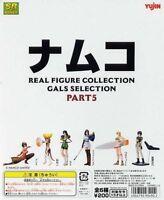 Yujin Namco Gals Collection P5 Miniature Gashapon Figures Set B of 6