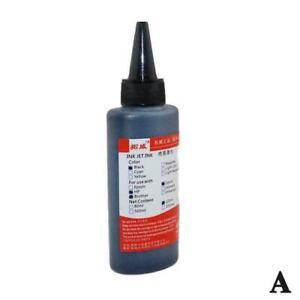 Bulk Refill Ink Bottle For Hp Inkjet Printer, 4 Colors Hot U3I1
