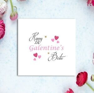 Galentines Card - Bestie Card - Valentines - Best Friend Cards - Love Cards