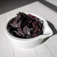 Wild Atlantic Seaweed - 50g Hand Harvested Dried Whole Leaf Irish Dulse Dillisk