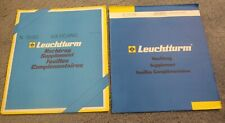 VATICAN 2003 and 2006 LIGHTHOUSE SUPPLEMENT PAGES - 8 PAGES IN TOTAL