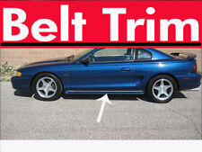 Ford MUSTANG CHROME SIDE BELT TRIM DOOR MOLDING 1994 1995 1996 1997 1998