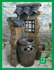 LX62736 PATIO EAVE OUTDOOR WATER FOUNTAIN FEATURE 50% Off Now Only $175