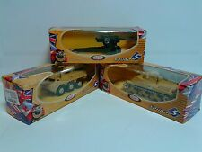 SET LOT of 3 SOLIDO Military Vehicles: General Lee, VAB, Canon 105mm MIB OVP
