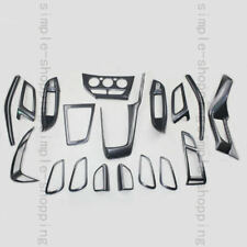 18pcs Inner Dash Full Kits Carbon Fiber Color Cover Trims For Ford Focus 2012