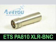 ETS PA810 B905 Digital Audio Impedance Transformer Balun XLR Male - BNC-F