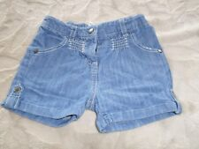 Short en jean , Bleu , 18 MOIS , Taille ajustable , Marque VERT BAUDET , TTBE