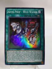 Yu-Gi-Oh Destiny Soldiers #DESO-EN026 Abyss Prop Wild Wagon SR