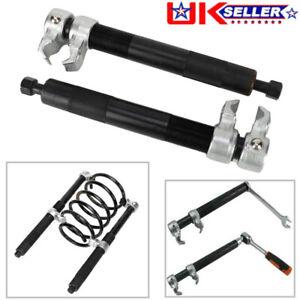Heavy Duty Coil Spring Compressor Hook Strut Clamp Suspension Car Auto Tool Set