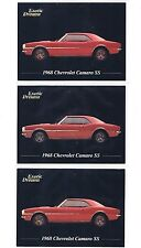 1968 Chevrolet Camaro SS 1992 Exotic Dreams Lot X3 Chevy Classic Car Advertising