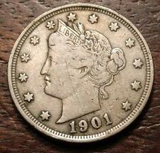 1901 Liberty Nickel 3391