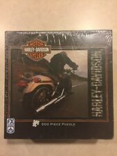 Harley Davidson 500 Piece Jigsaw Puzzle Motorcycles 24x18