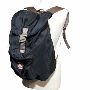Vtg JanSport Heritage Skip Yowell Black Backpack RARE Camping Hiking Outdoors