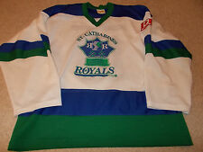 VTG-1990s St. Catharines Royals Canada Minor League Game Worn/Used Hockey Jersey