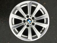 "BMW 5 SERIES F10 F11 17"" STYLE 236 ALLOY WHEEL RIM 6780720 8Jx17 IS30 GENUINE #1"