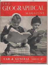 the geographical magazine-APR 1947-BULGARIAN CHILDREN.