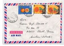 CA292 1991 Benin *PAKOU* CDS Airmail Cover MISSIONARY VEHICLES PTS