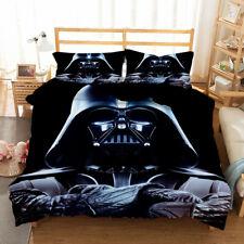 New ListingUs Star Wars Darth Vader 3Pcs Bedding Set Duvet Cover Pillowcase Comforter Cover