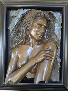 Bill Mack Bronze Sculpture - Enchantment (#14/50)