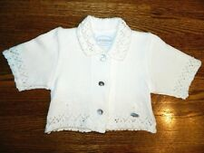 Girls GIESSWEIN Cream Cardigan Sweater (Size:Austria 80) US Size 18-24 Months