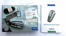 New Original Clip-On Headset Nokia HS-3W Bluetooth Hands Free Phone - CLEARANCE