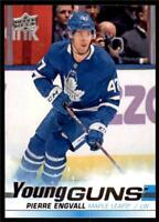 2019-20 Series 2 Base Young Guns #476 Pierre Engvall - Toronto Maple Leafs