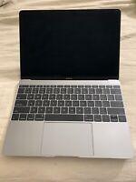 """AS-IS Apple MacBook A1534 Core M 12"""" Laptop - MF855LL/A SILVER - PLEASE READ #3"""