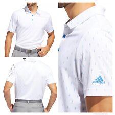 New With Tags! Adidas Golf Men's Ultimate Indigo Dye Print Polo Shirt - Royal