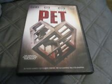 """DVD """"PET"""" Dominic MONAGHAN / film d'horreur de Carles TORRENS"""