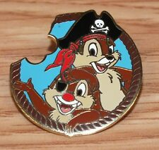 Genuine Walt Disney Mystery Pirate Collection Chip & Dale 2007 Collectible Pin!