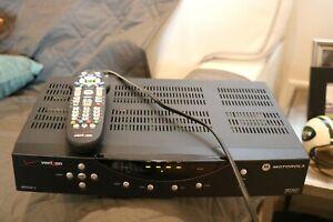 Motorola (Verizon) STB QIP2500-3 Set Top Box + working remote + power cable (1)