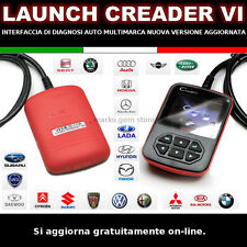 Diagnosi auto LAUNCH VI 6 scanner OBD2 OBDII SCANTOOL CREADER VI italiano 2018*