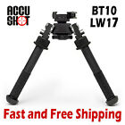 Accu Shot V8 Atlas QD Picatinny Rail Mount Bi-pod Adjustable Legs (BT10-LW17)