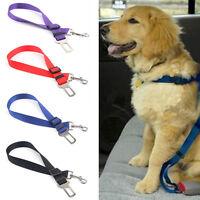 Ajustable Arnés Clip Cinturón De Seguridad Asiento Coche Doméstico perro